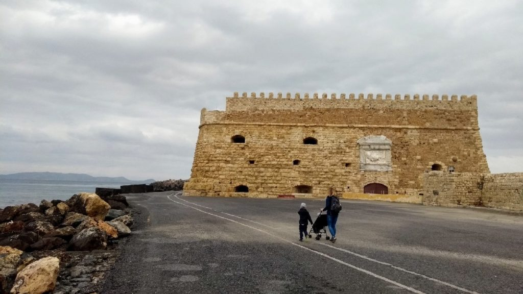 Festung Koules in Heraklion